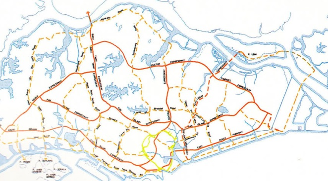 central park road system